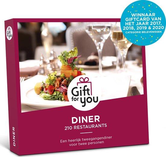 GiftForYou Cadeaubon – Diner