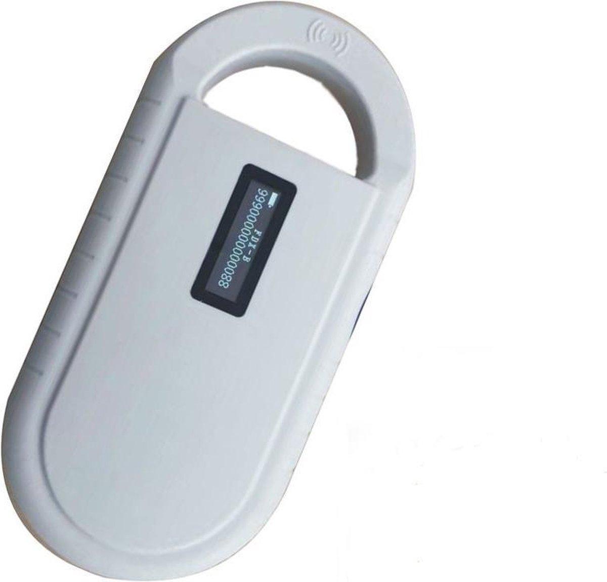 Portable RFID Chiplezer / Chipreader voor Alle (Huis)dieren