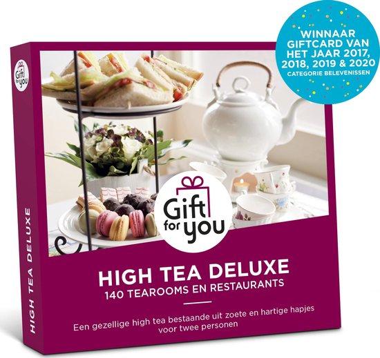 GiftForYou Cadeaubon – High Tea Deluxe