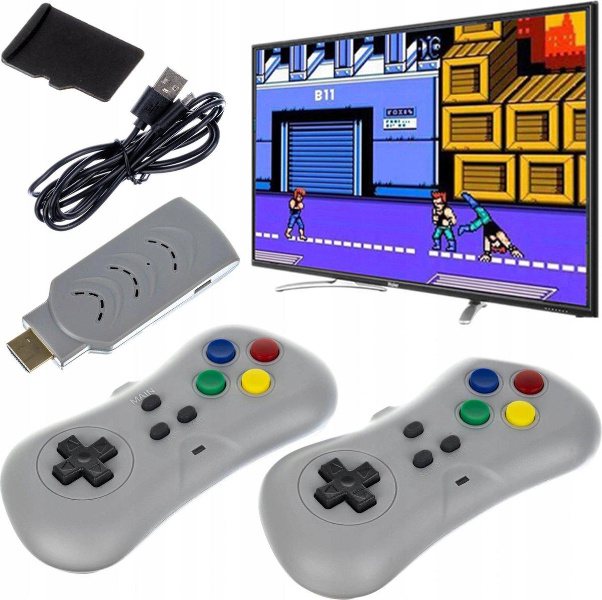 Retro TV-gameconsole HDMI - 200 spellen Vanaf 6 Jaar