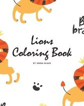 Lions Coloring Book for Children (8x10 Coloring Book / Activity Book)