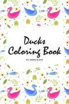 Ducks Coloring Book for Children (6x9 Coloring Book / Activity Book)