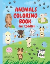 Animals Coloring Book for Toddler