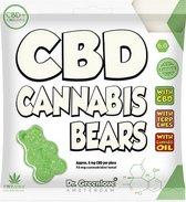 CBD Cannabis Bears - Heerlijke gummibeertjes met cannabidiol en natuurlijke terpenen.