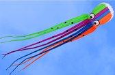 Pro-Care Vlieger SUPER SIZED 3D kanalen gevulde inktvis maat 8 meter hoog en 1.25 breed. Enjoy the Sky!