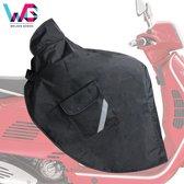 Scooter Beenkleed - Universeel - Zwart - Scooter Accesoires - Beenkleed Scooter - Beenwarmer - Gratis Opbertas