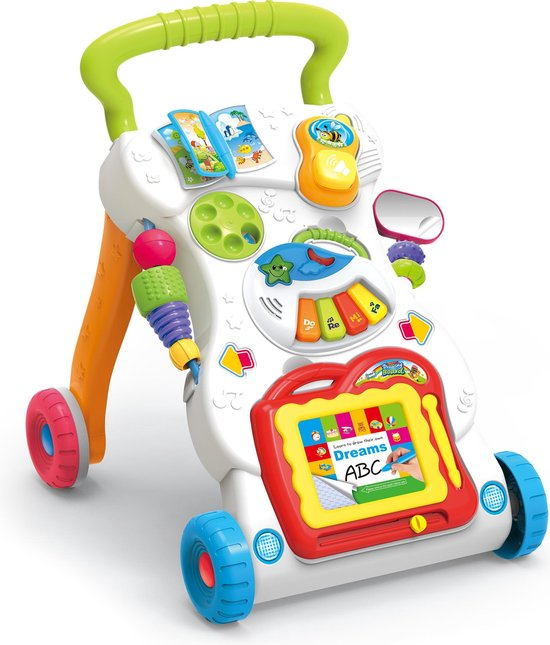 Loopwagen - Loopwagen baby - Loopstoeltje baby - Loopkar - Loopwagen 1 jaar - Loopwagens - Speelwagen - Looptrainer - Baby walker - Baby Loopwagen - Loopwagens - Loopwagen meisje - Loopwagen jongen