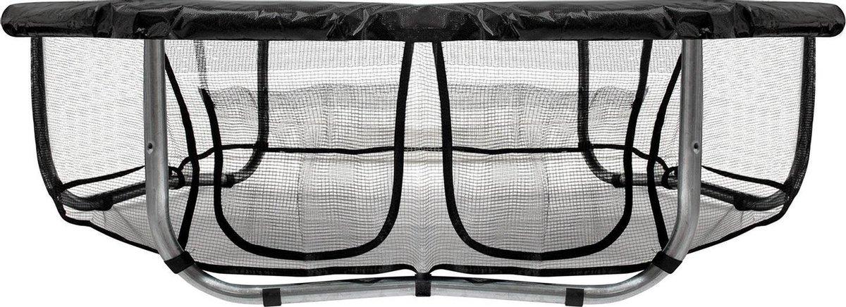 VirtuFit Trampolinerok met Opbergvak - Veiligheidsnet - 305 cm