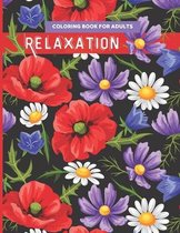 Coloring Book for Adults Relaxation: Stress Relieving