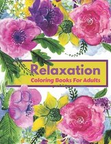 Relaxation Coloring Books for Adults
