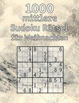 1000 mittlere Sudoku Ratsel fur Weihnachten