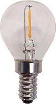 Reserve kogellamp LED - E12 - 0,5W - extra warmwit