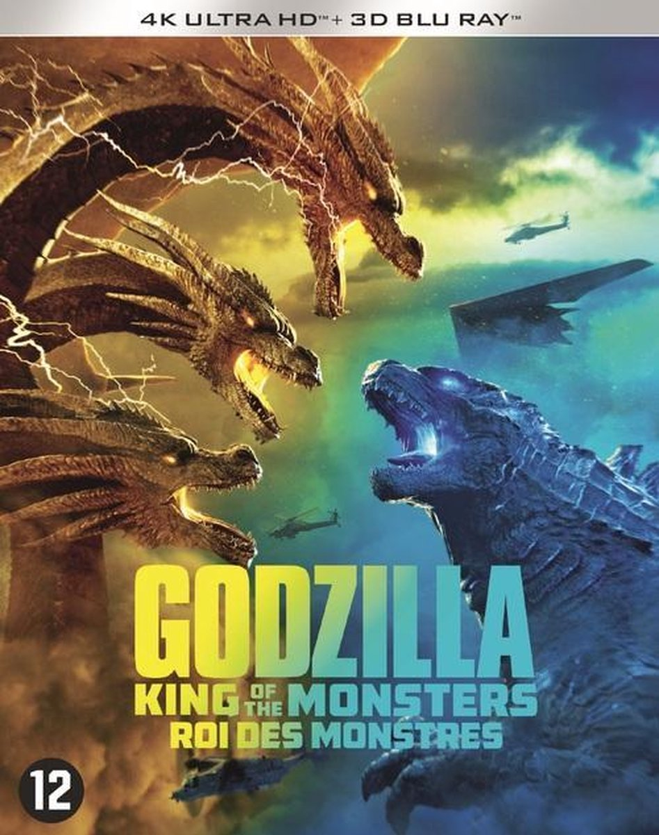 Godzilla: King of the Monsters (4K Ultra HD Blu-ray & 3D Blu-ray)-