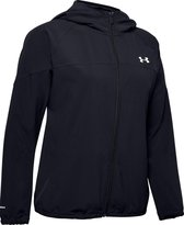 Under Armour Woven Hooded  Sportjas Dames - Maat M