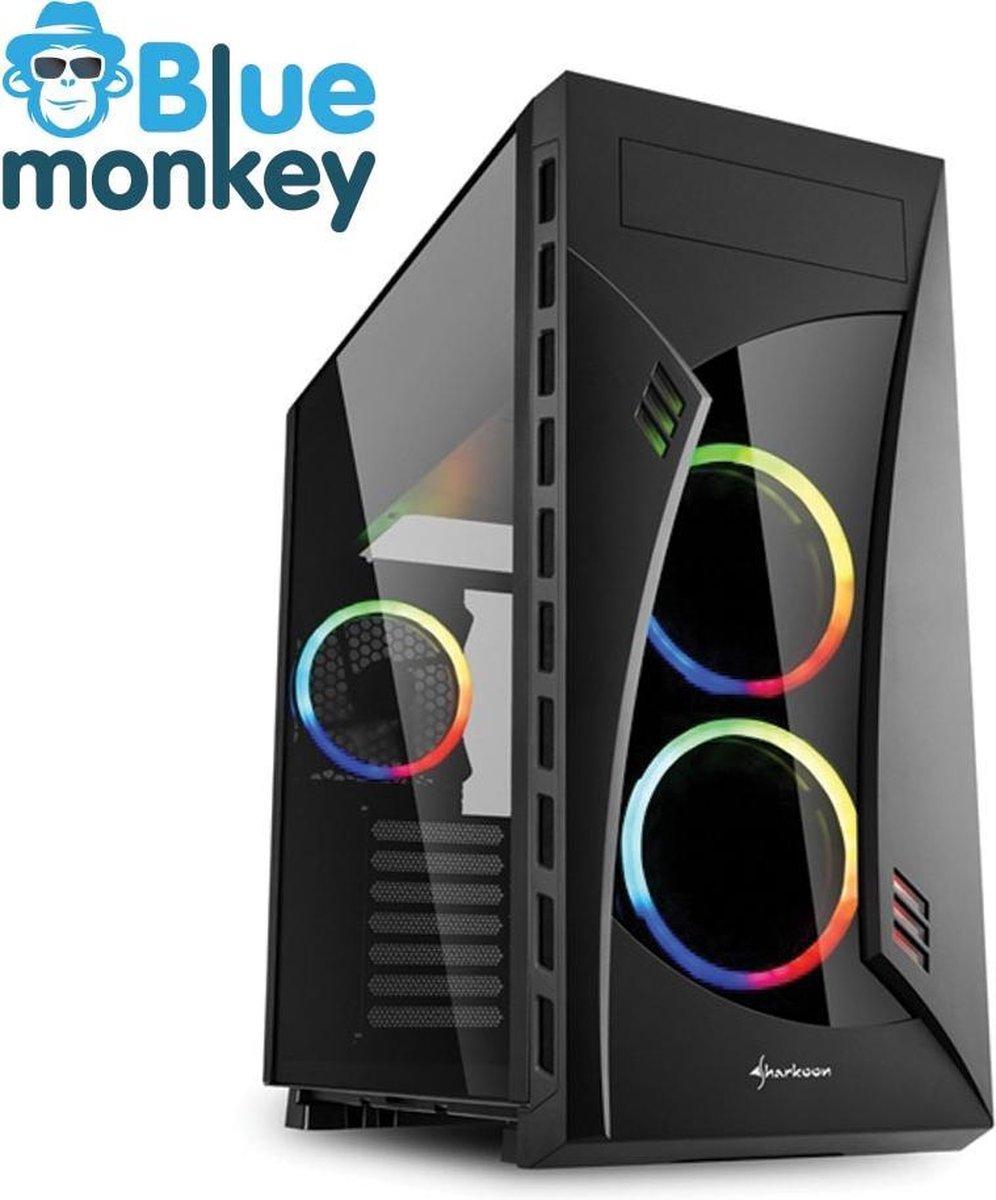 Blue Monkey epic game PC: i5 11400 - RTX 3060 Ti - 16 GB RGB DDR4 - 1 TB m.2 SSD - WiFi - Bluetooth