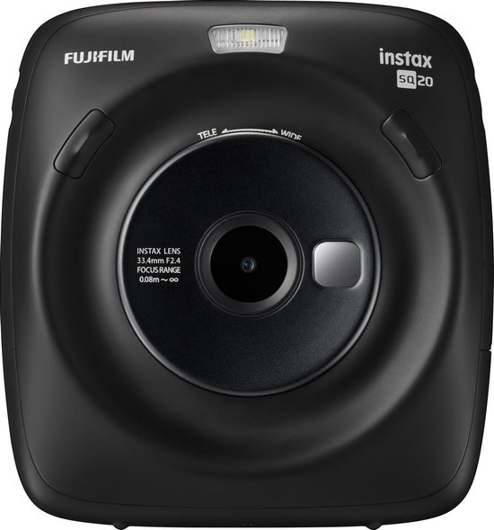 Fujifilm Instax Square SQ20 - Zwart
