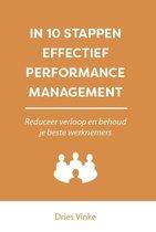 In 10 stappen  -   In 10 stappen effectief performance management