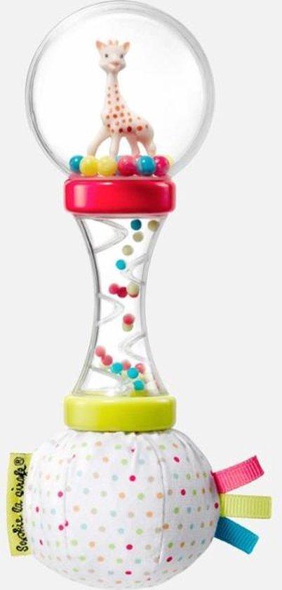 Afbeelding van Sophie de giraf zachte maracas rammelaar in witte geschenkdoos speelgoed