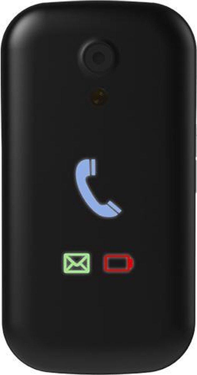 Swissvoice S28 | Zwart | Senioren GSM | mobiele telefoon | eenvoudig opladen