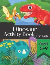 Dinosaur Activity Book for Kids Ages 5-9