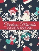 Christmas Mandala Coloring Book Vol. 1