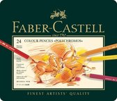 Faber-Castell Polychromos kleurpotlood - 24st. - blik - FC-110024