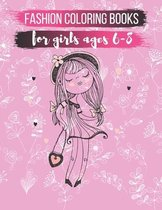 Fashion Coloring Books For Girls ages 6-8