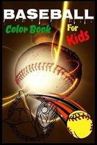Baseball Color Book For Kids