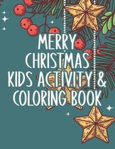 Merry Christmas Kids Activity and Coloring Book