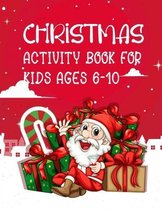 Christmas Activity Book Kids Ages 6-10