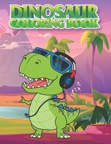 Dinosaur Coloring Book: For Kids