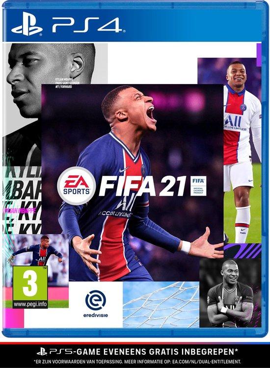 Cover van de game FIFA 21 - PS4