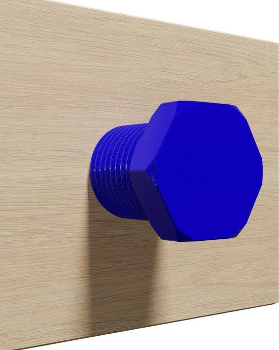 Koptelefoon houder Bout - 3D print - Blue