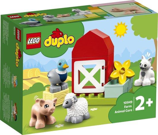 LEGO DUPLO Boerderijdieren Verzorgen - 10949