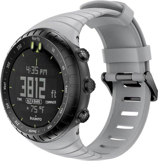 Suunto Core Horlogebandje Bandje Polsband Siliconen - Grijs