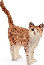 Schleich Kat 13836 - Cat Play Figure - Farm World - 6.6 X 1.7 X 5.6 Cm