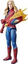 Marvel Avengers Titan Hero Power FX Captain Marvel - Speelfiguur 30cm