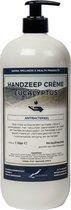 Vloeibare handzeep Crème Eucalyptus 1 liter - met gratis pomp