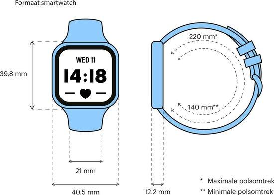Fitbit Versa 2 - Smartwatch - Steengrijs