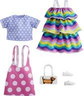 Barbie Fashion 2-Pak - Rainbow & Polka Dots