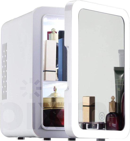 Koelkast: PIXMY - Skincare Fridge - 4L Inhoud - Mini Koelkast - Met Spiegel En Ledverlichting - Skincare Koelkast - Make Up Koelkast - PISCF21LED, van het merk PIXMY