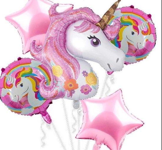 Ballonboeket ballon set Unicorn kindercrea