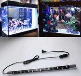 Aquariumverlichting 46cm - Aquariumlamp van glas - 120cm snoer - LED...