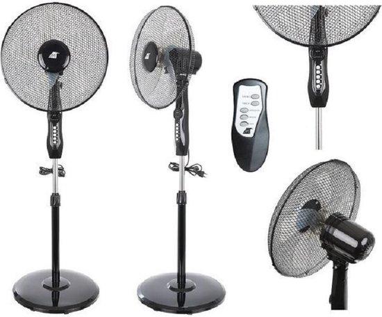 Staande ventilator - Statiefventilator - Ventilator met Afstandsbediening - Ventilator staand