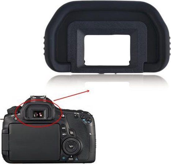 Eye cup oogschelp EB voor Canon 6D 5D 60D 70D 80D 90D