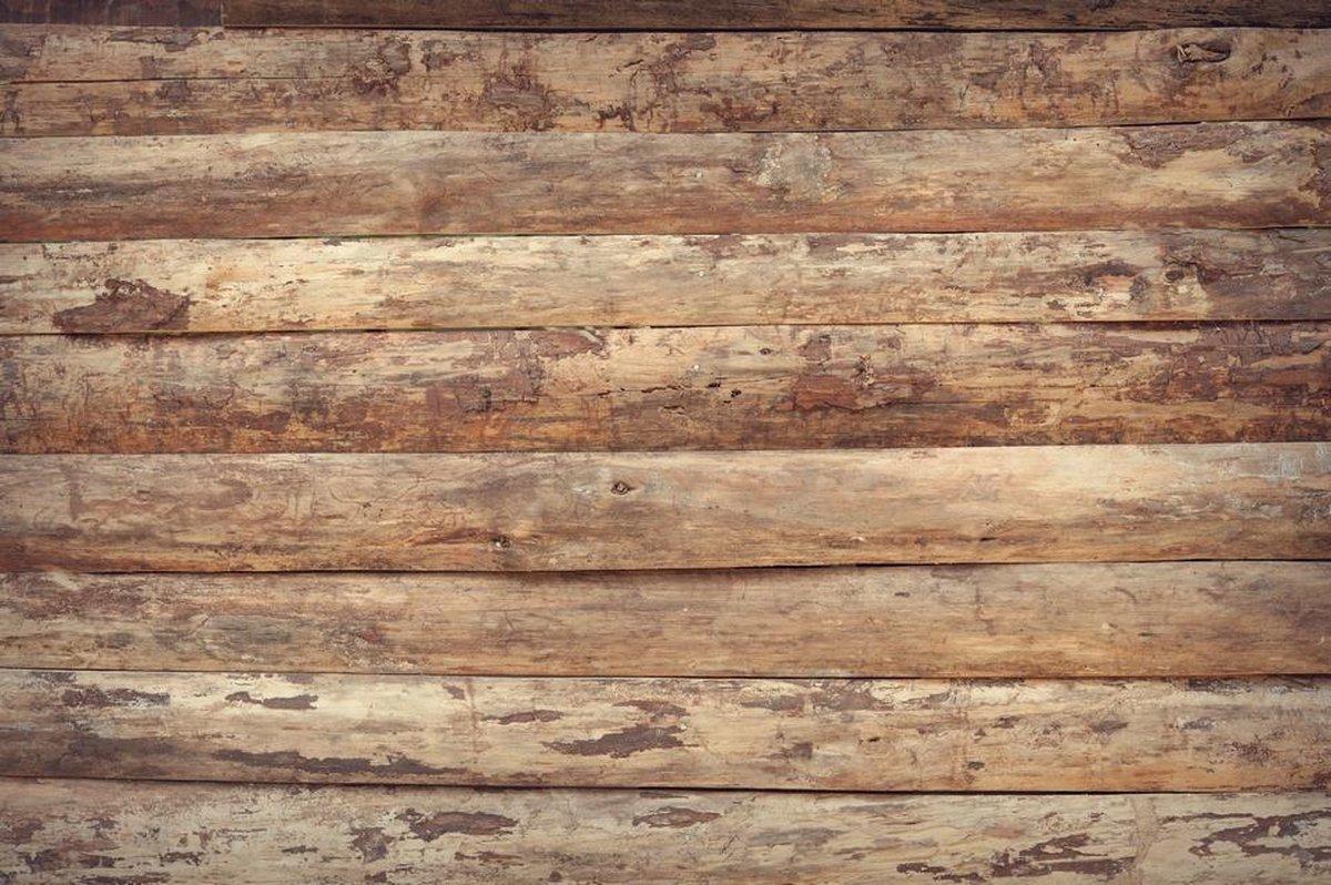 Ongekend bol.com | Houtlook Behang | Het patroon van ongelijke houten AZ-87