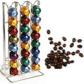 RVS Capsulehouder - Koffie Capsule Standaard - Cuphouder Dispenser - Cups Houder - 48 Capsules