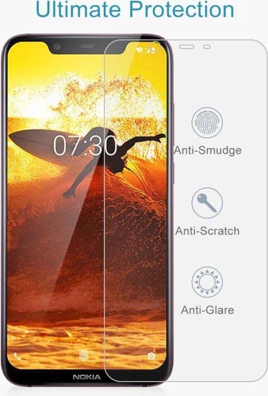 Let op type!! 10 PCS 0 26 mm 9H 2.5D explosieveilige getemperd glas Film voor Nokia 8.1