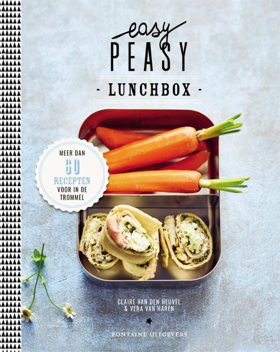 Boek cover Easy Peasy lunchbox van Claire van den Heuvel (Hardcover)