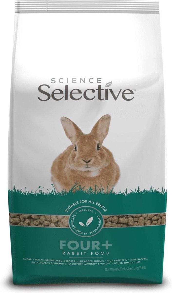 Supreme Science Selective Rabbit 4plus - Konijnenvoer - 10 kg